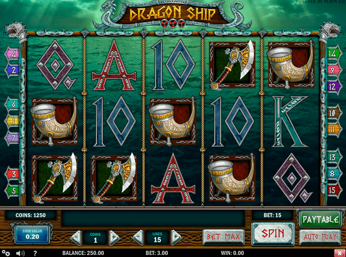dragon ship playn go kolikkopelit