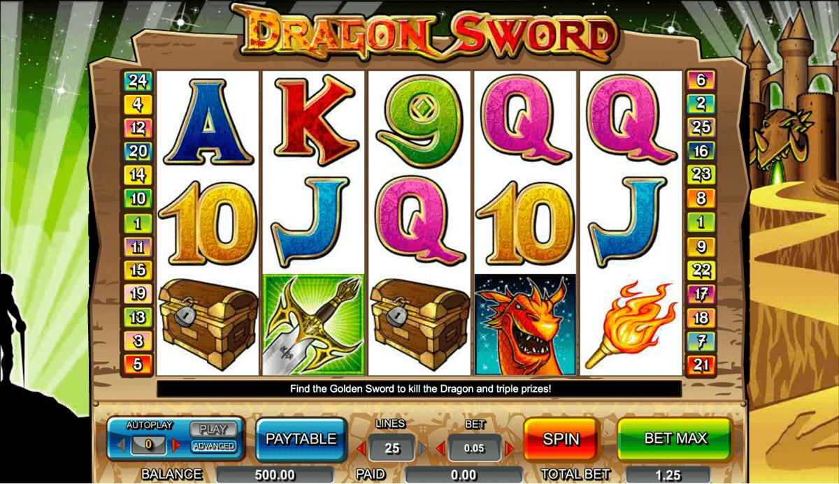 dragon sword amaya kolikkopelit