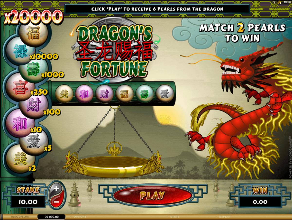 dragons fortune microgaming raaputusarvat