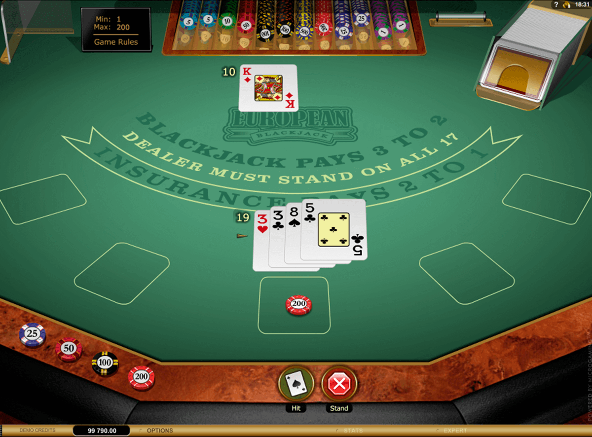 european blackjack gold microgaming blackjack