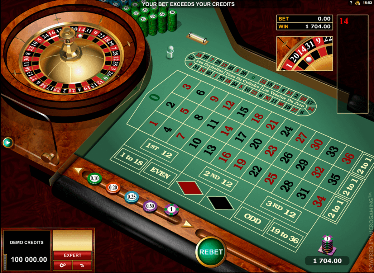 european roulette gold series microgaming ruletti