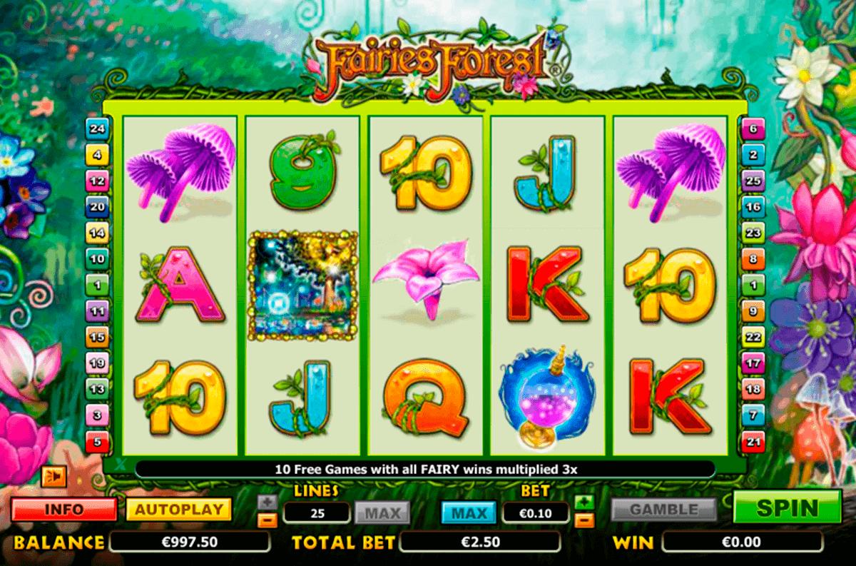 fairies forest netgen gaming kolikkopelit