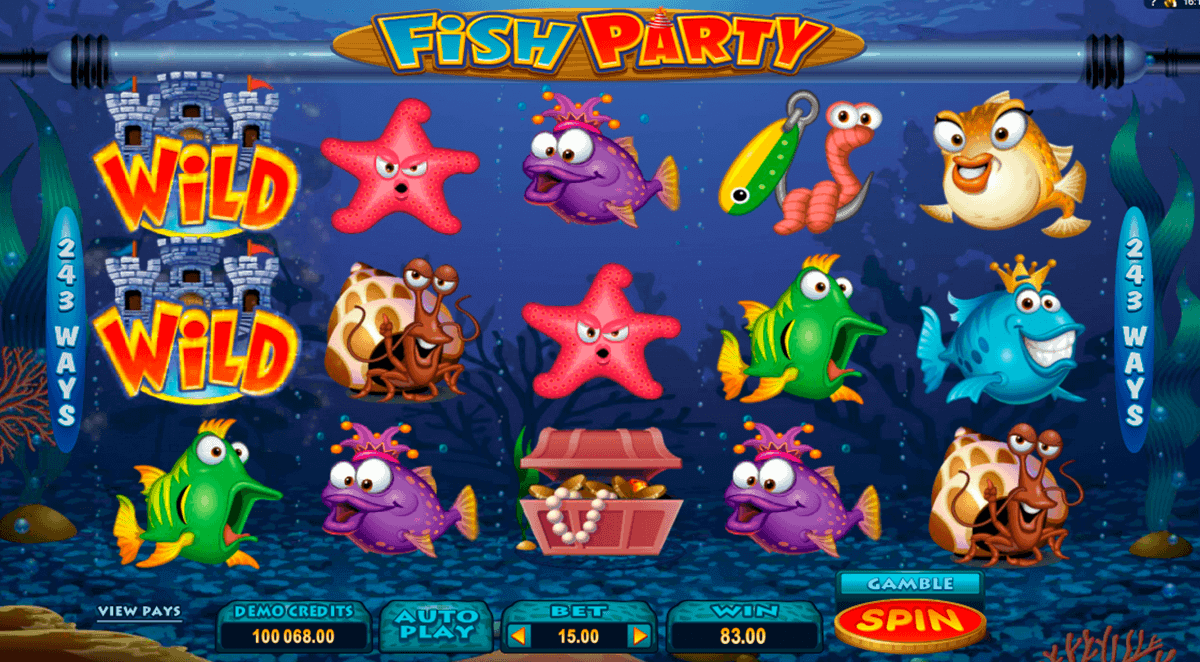 fish party microgaming kolikkopelit