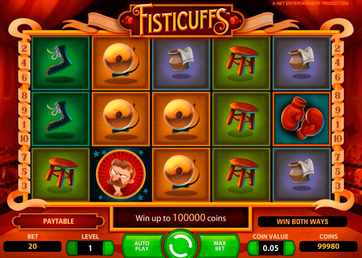 fisticuffs netent kolikkopelit