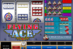 flying ace microgaming kolikkopelit