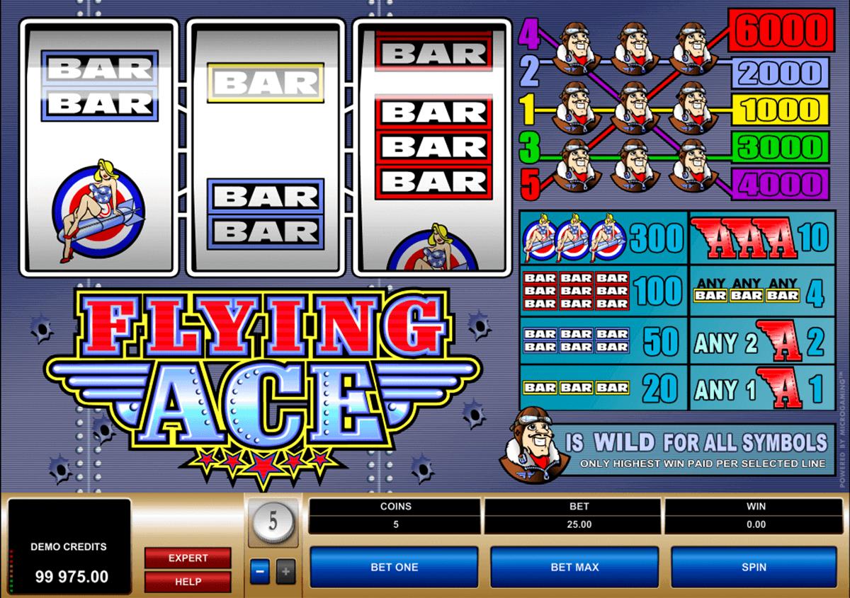 flying ace microgaming kolikkopelit