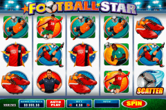 football star microgaming kolikkopelit