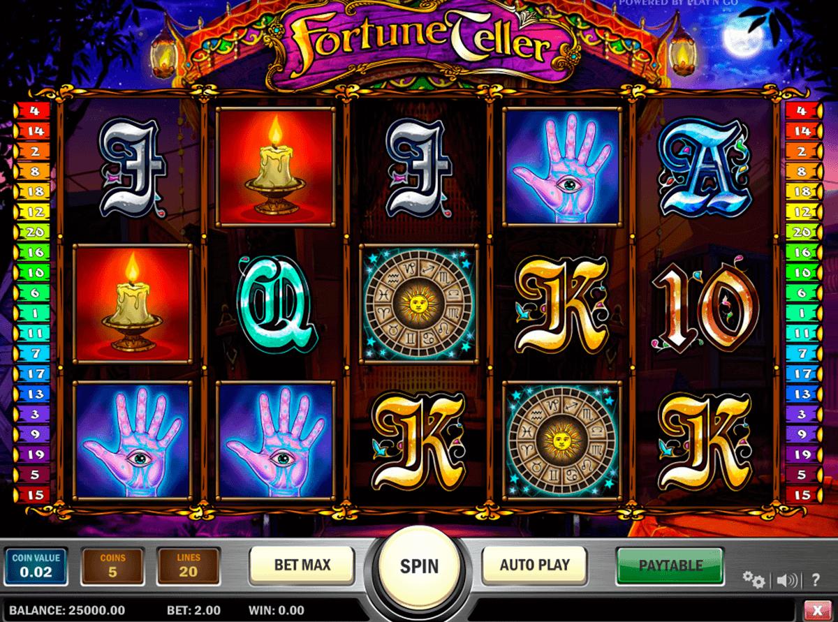 fortune teller playn go kolikkopelit