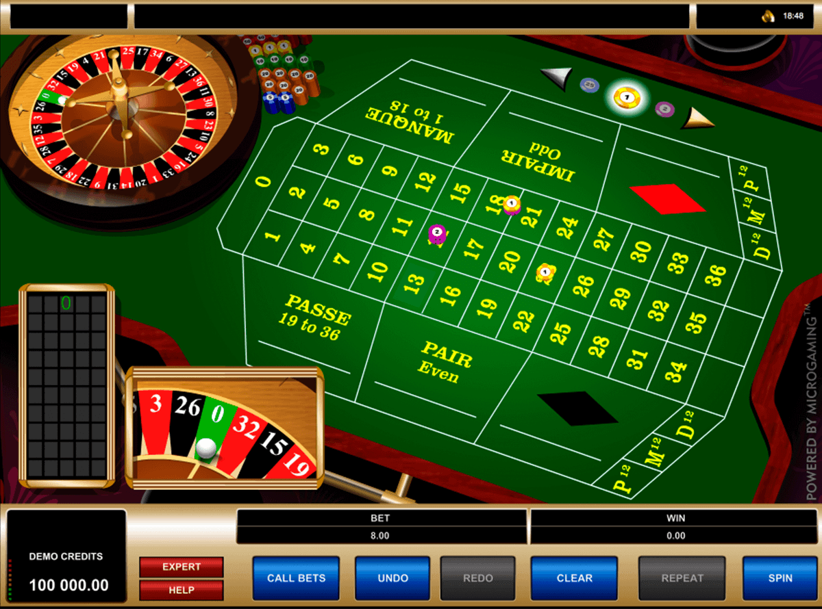 french roulette microgaming ruletti