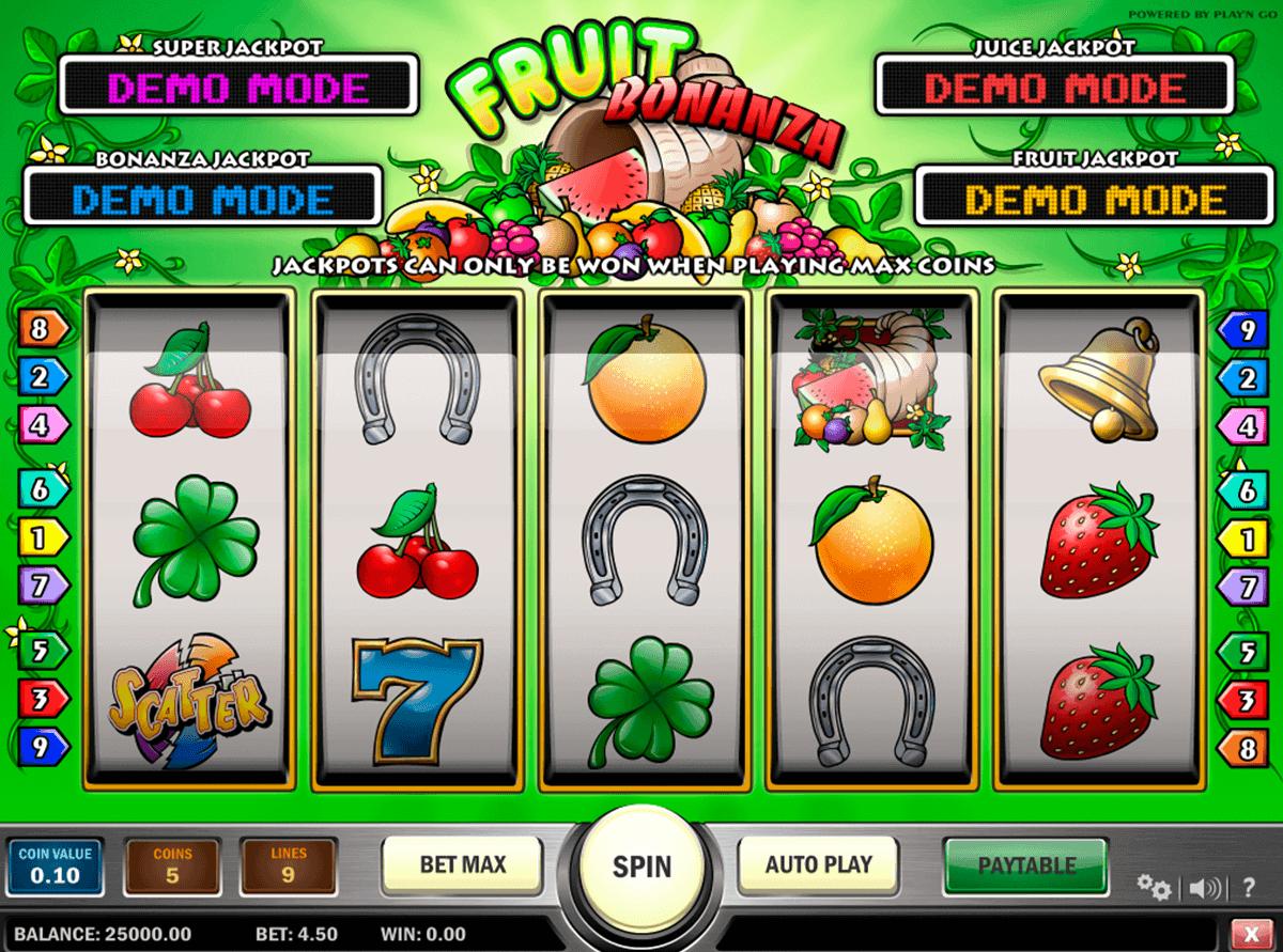 fruit bonanza playn go kolikkopelit