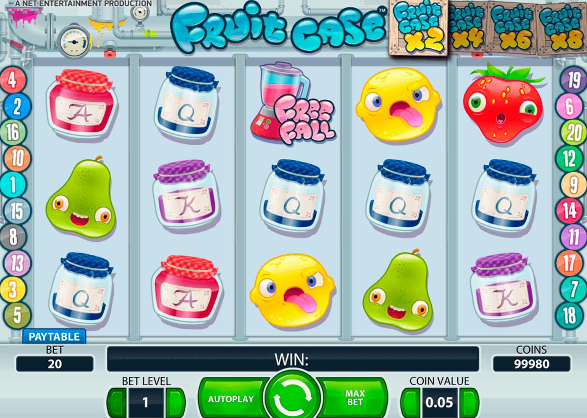fruit case netent kolikkopelit