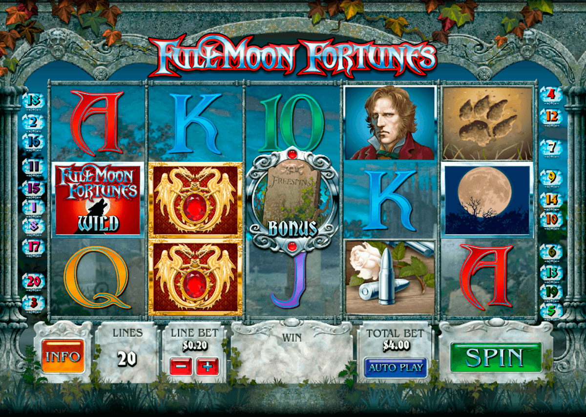 full moon fortunes playtech kolikkopelit