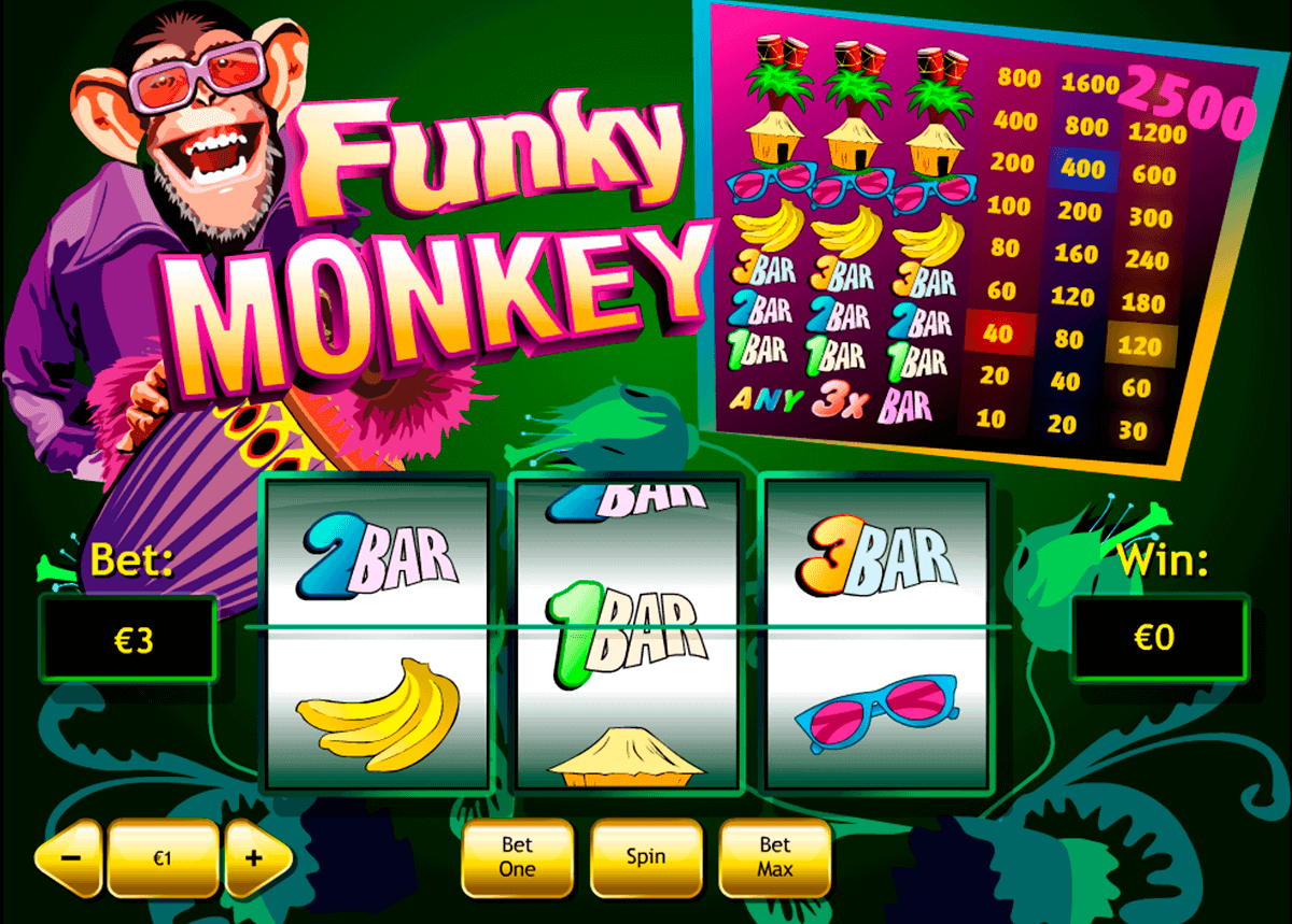funky monkey playtech kolikkopelit