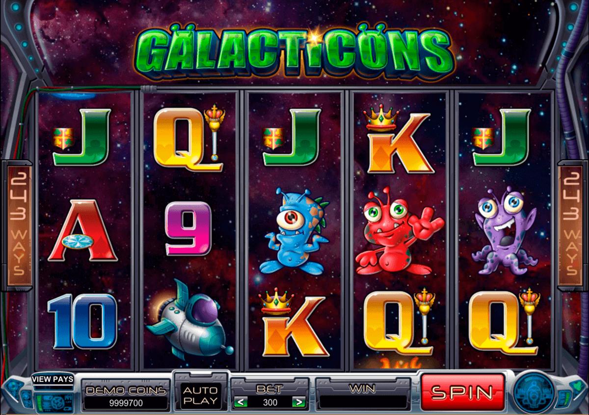 galacticons microgaming kolikkopelit