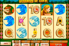 goddess of life playtech kolikkopelit
