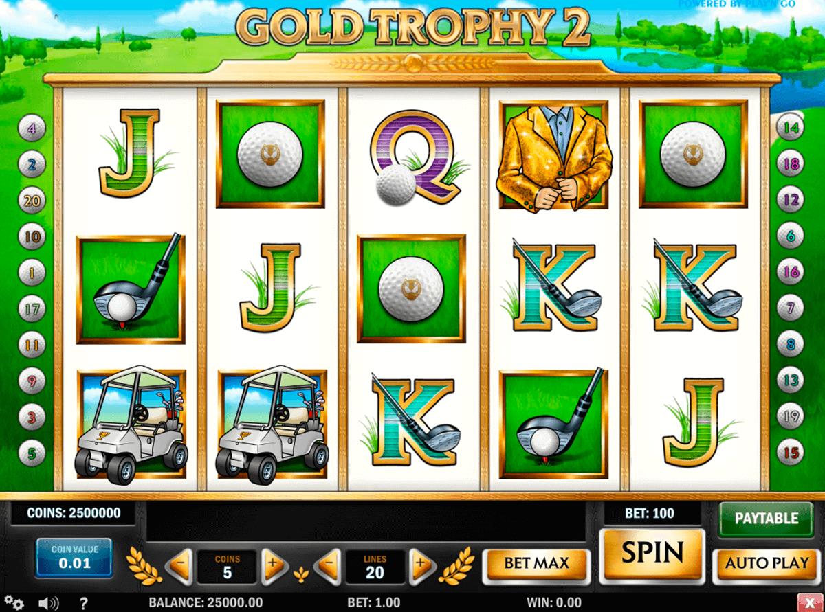 gold trophy  playn go kolikkopelit