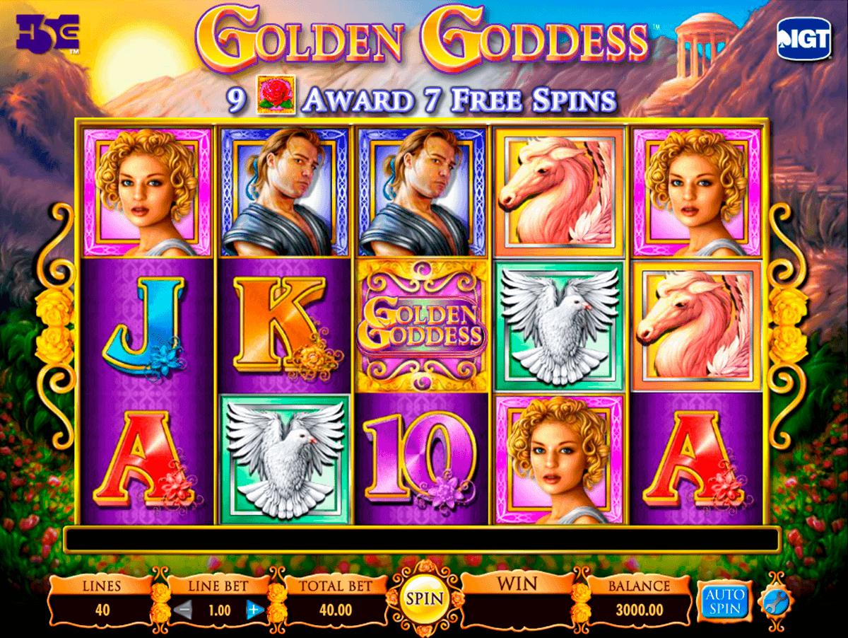 golden goddess igt kolikkopelit