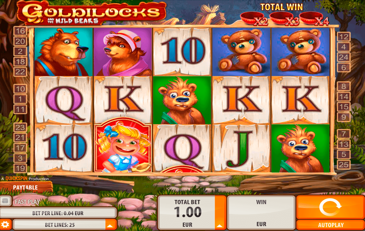 goldilocks quickspin kolikkopelit