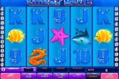 great blue playtech kolikkopelit