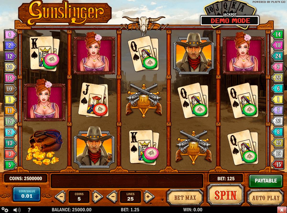 gunslinger playn go kolikkopelit