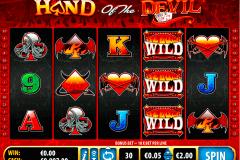 hand of the devil bally kolikkopelit