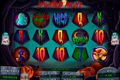haunted night genesis kolikkopelit