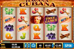 havana cubana bally kolikkopelit