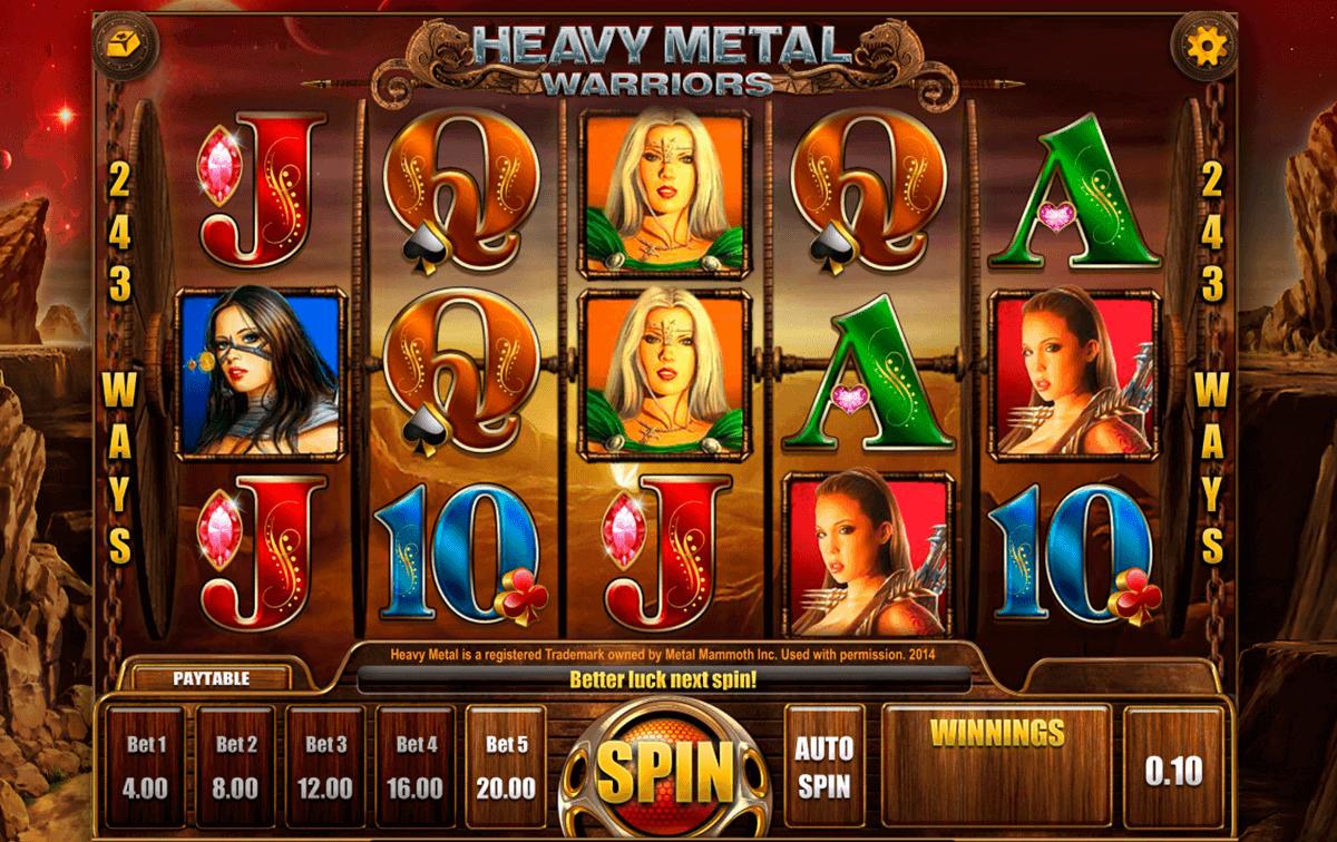 heavy metal warriors isoftbet kolikkopelit