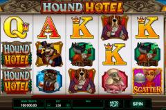 hound hotel microgaming kolikkopelit