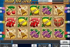 hunt for gold playn go kolikkopelit