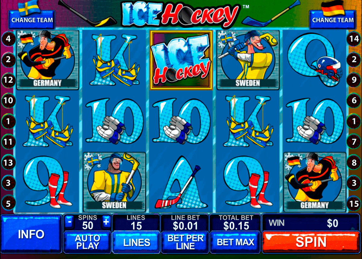 ice hockey playtech kolikkopelit