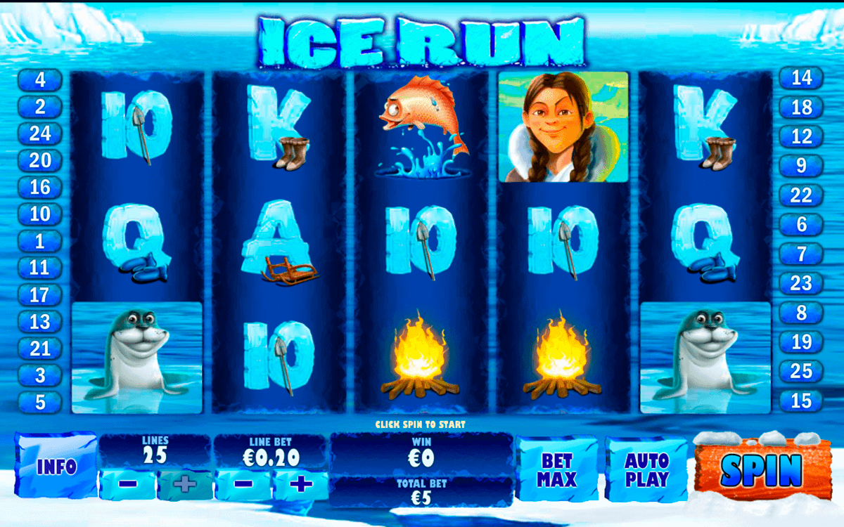 ice run playtech kolikkopelit