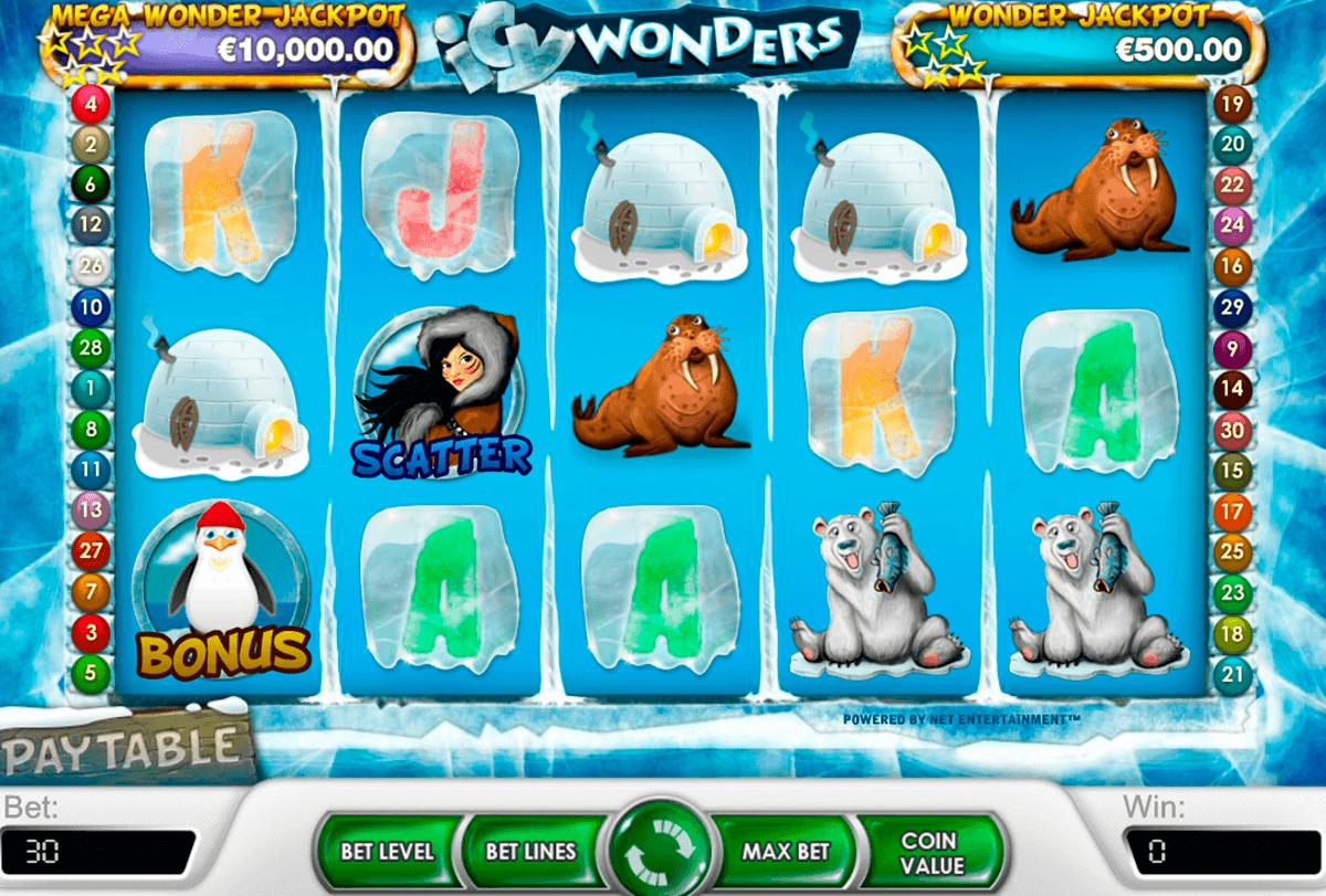 icy wonders netent kolikkopelit