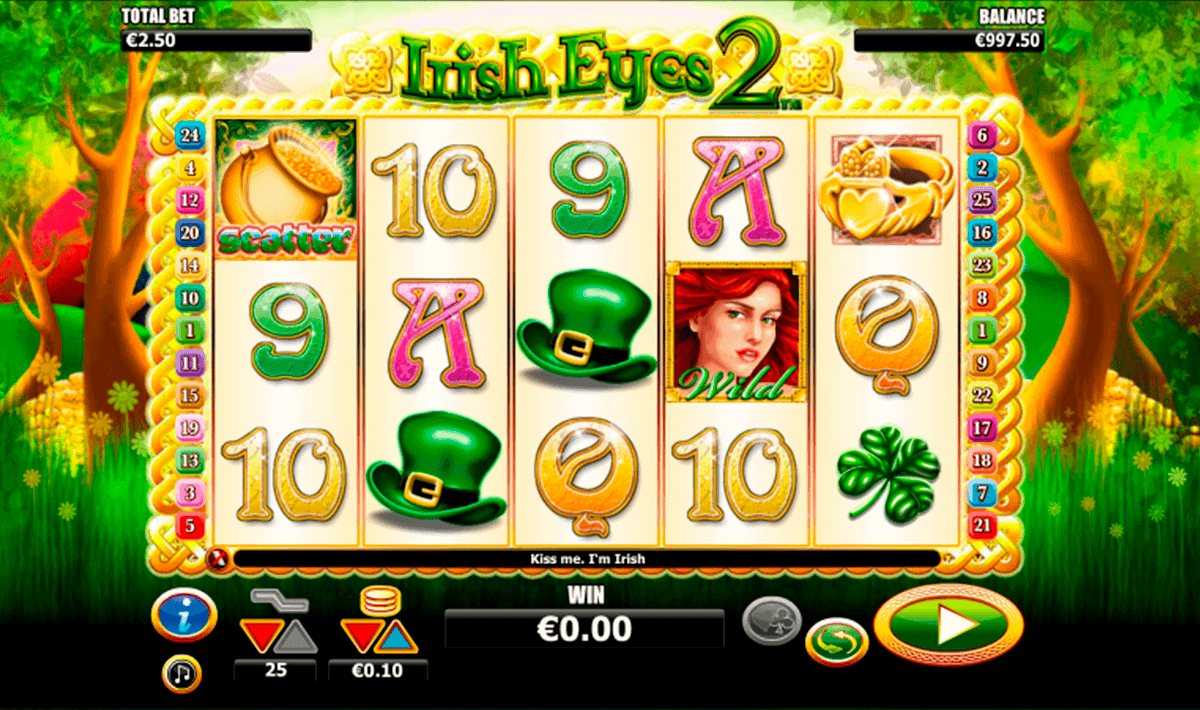 irish eyes  netgen gaming kolikkopelit