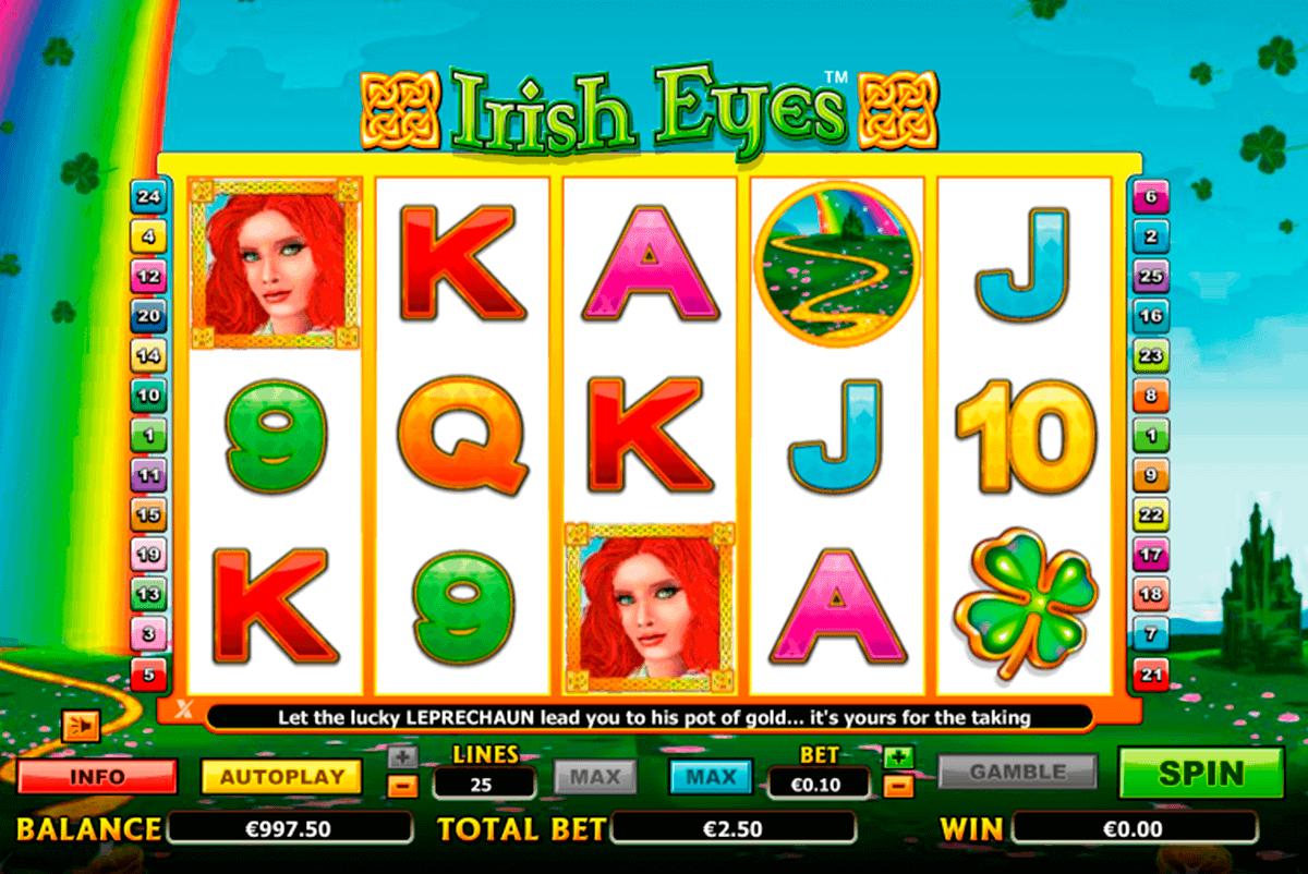 irish eyes nextgen gaming kolikkopelit
