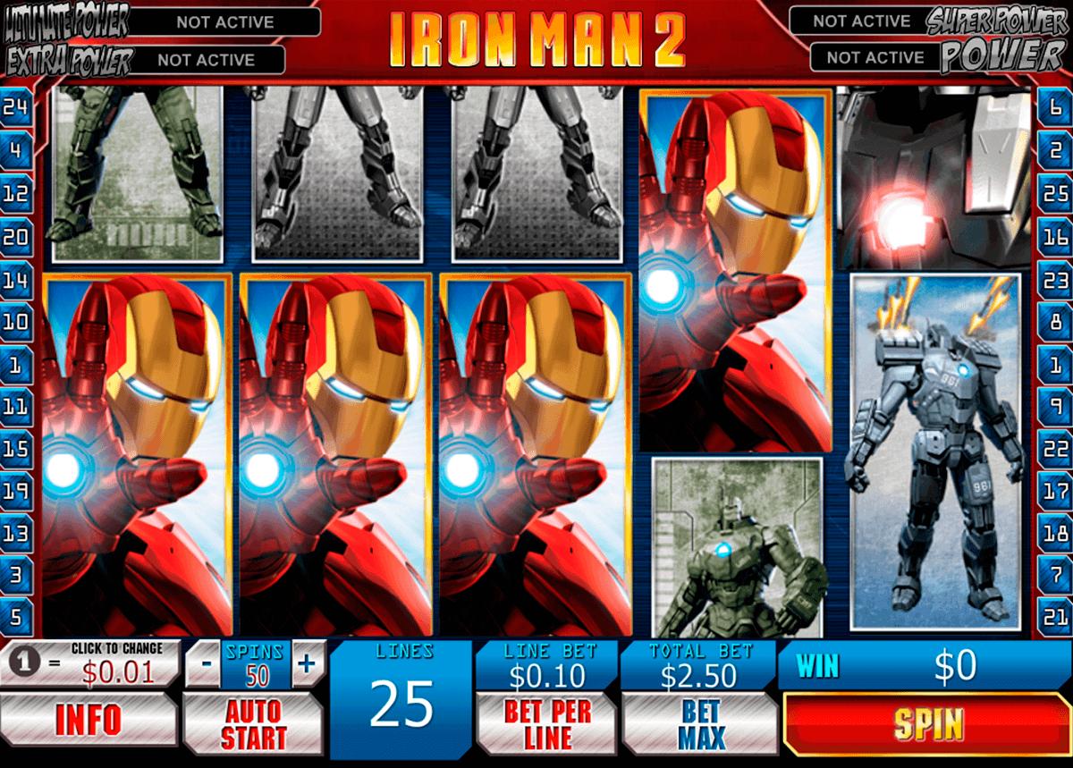 iron man  playtech kolikkopelit