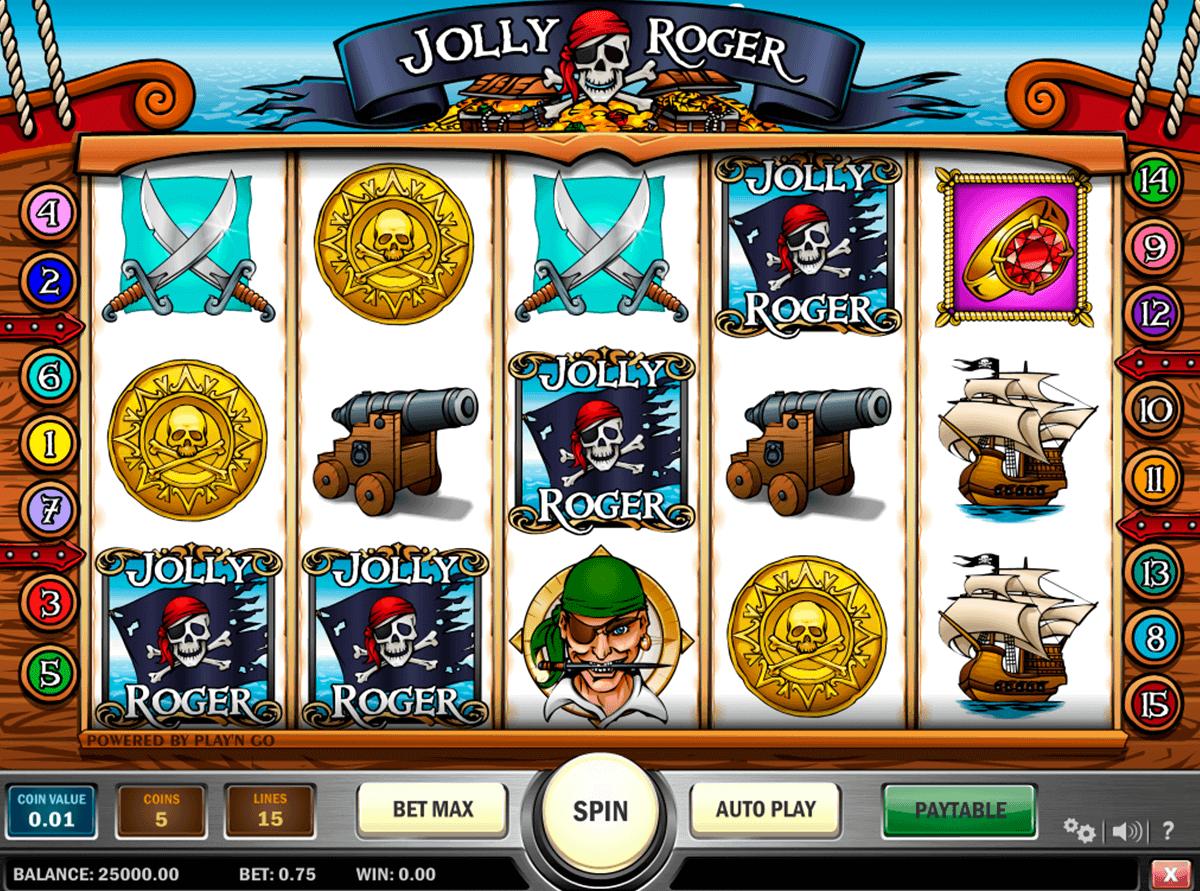 jolly roger playn go kolikkopelit