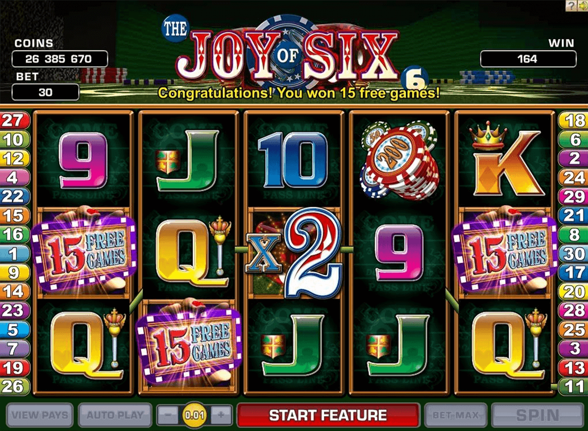 joy of si microgaming kolikkopelit