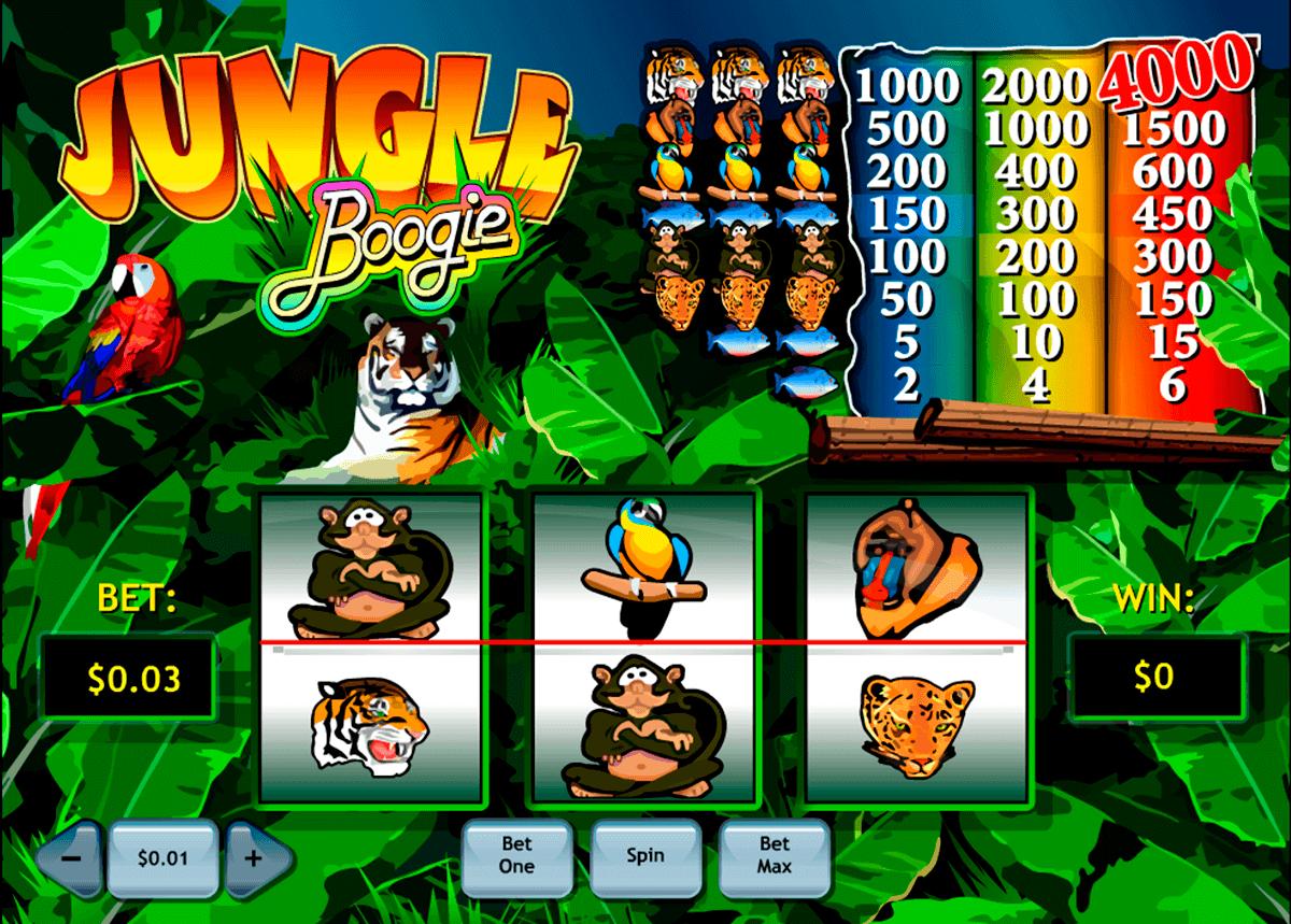 jungle boogie playtech kolikkopelit