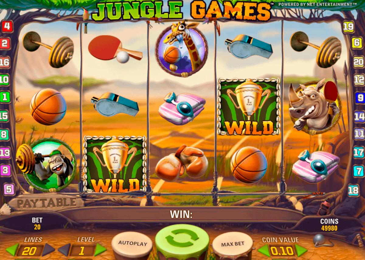 jungle games netent kolikkopelit
