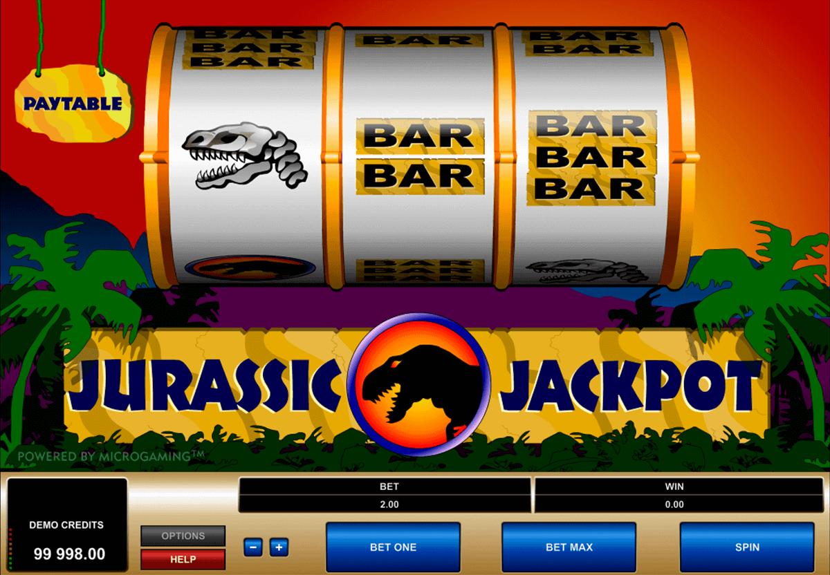 jurassic jackpot microgaming kolikkopelit