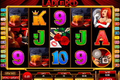 lady in red microgaming kolikkopelit