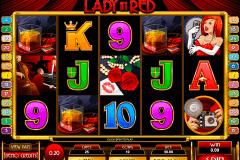 lady in red microgaming kolikkopelit