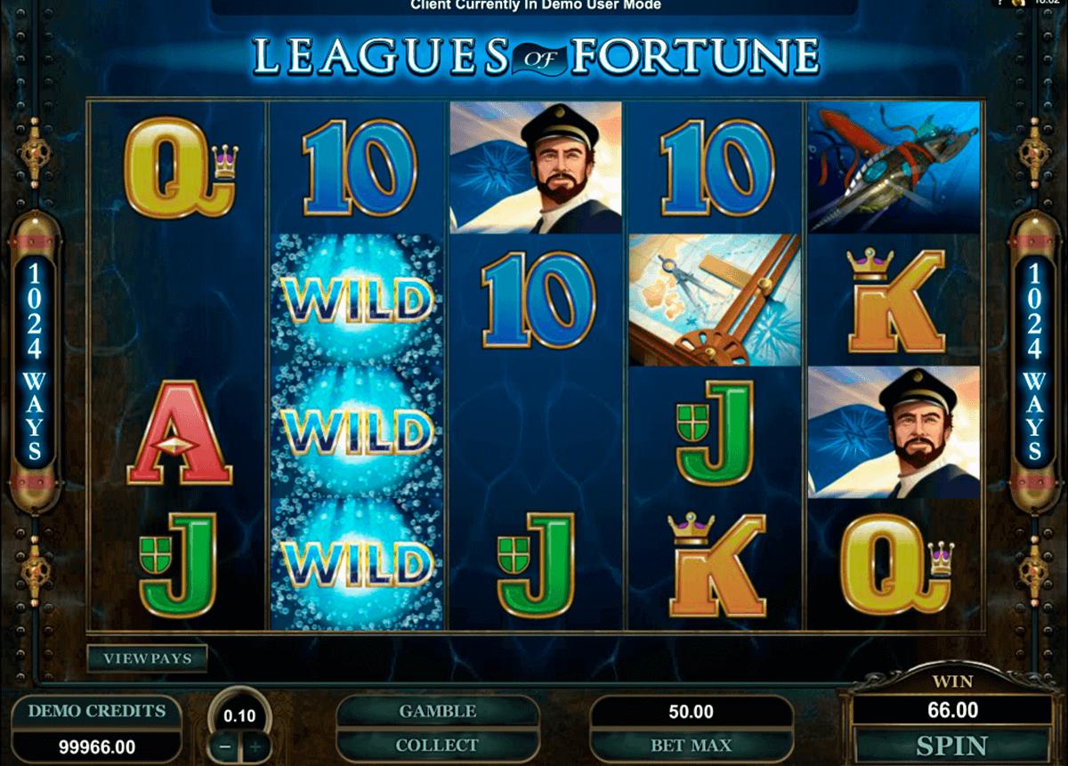 leagues of fortune microgaming kolikkopelit