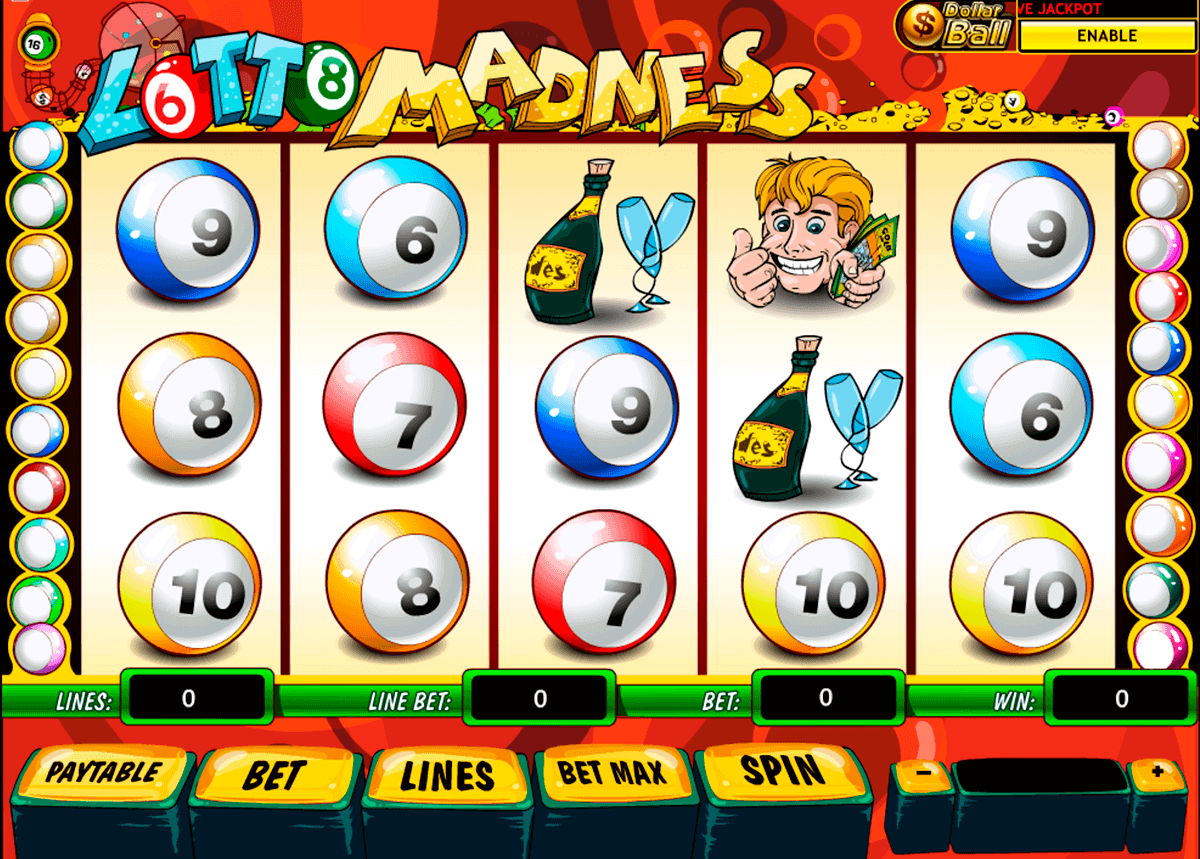 lotto madness playtech kolikkopelit