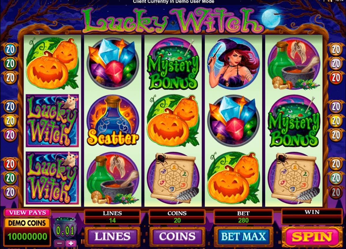 lucky witch microgaming kolikkopelit
