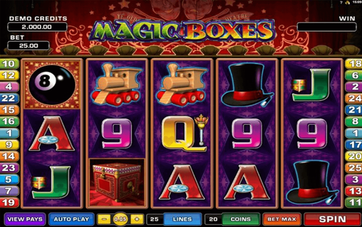 magic boes microgaming kolikkopelit