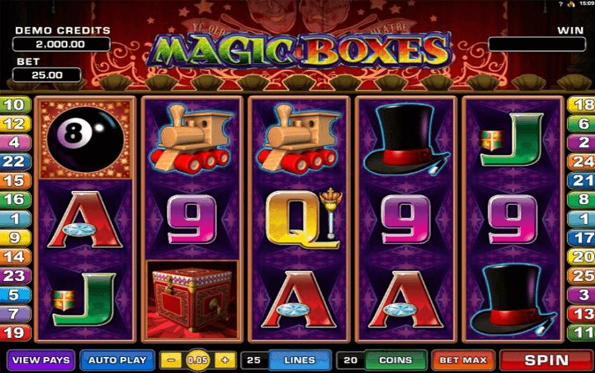 magic boes microgaming kolikkopelit