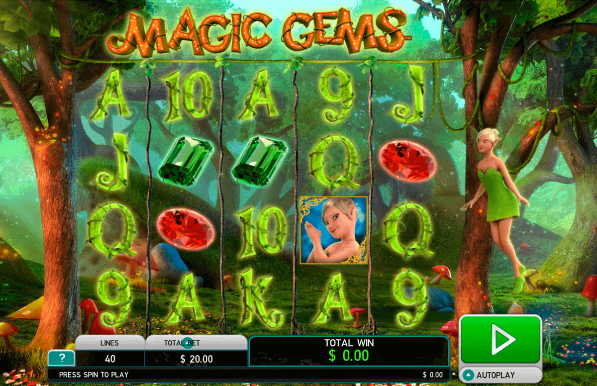 magic gems leander kolikkopelit