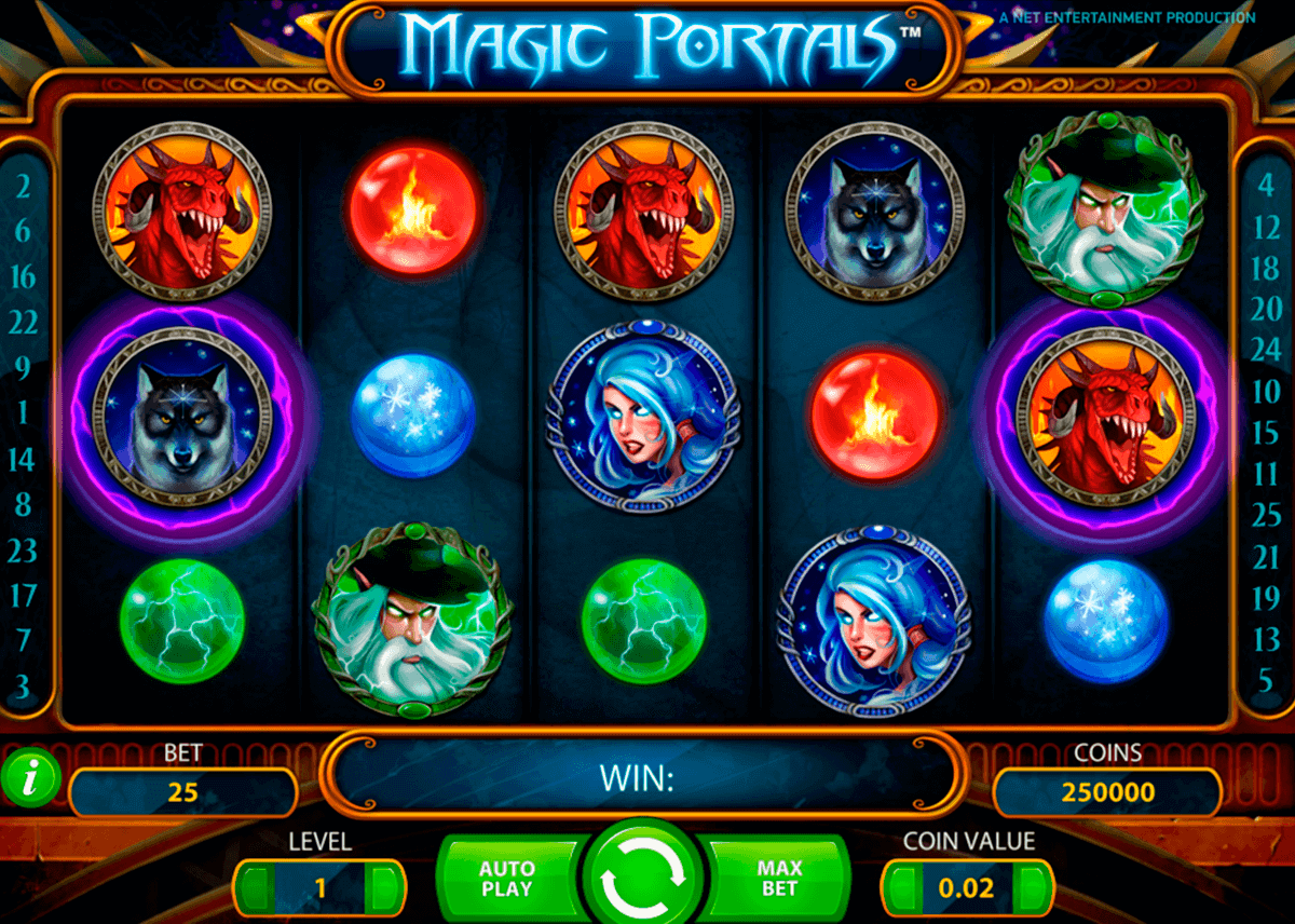 magic portals netent kolikkopelit